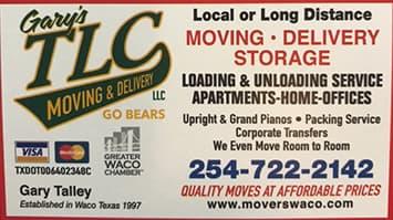 Gary's TLC Moving