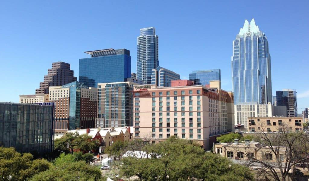 Sunny day in Austin, TX