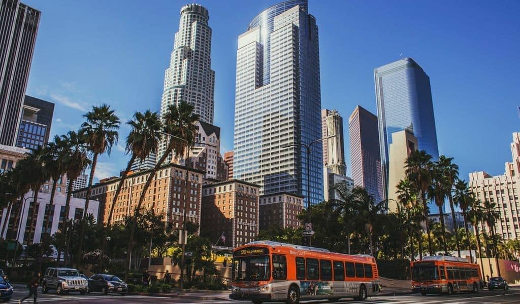 Beautiful street in LA