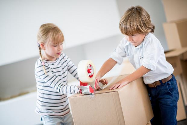 Kids pack box