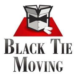 Black Tie Moving logo