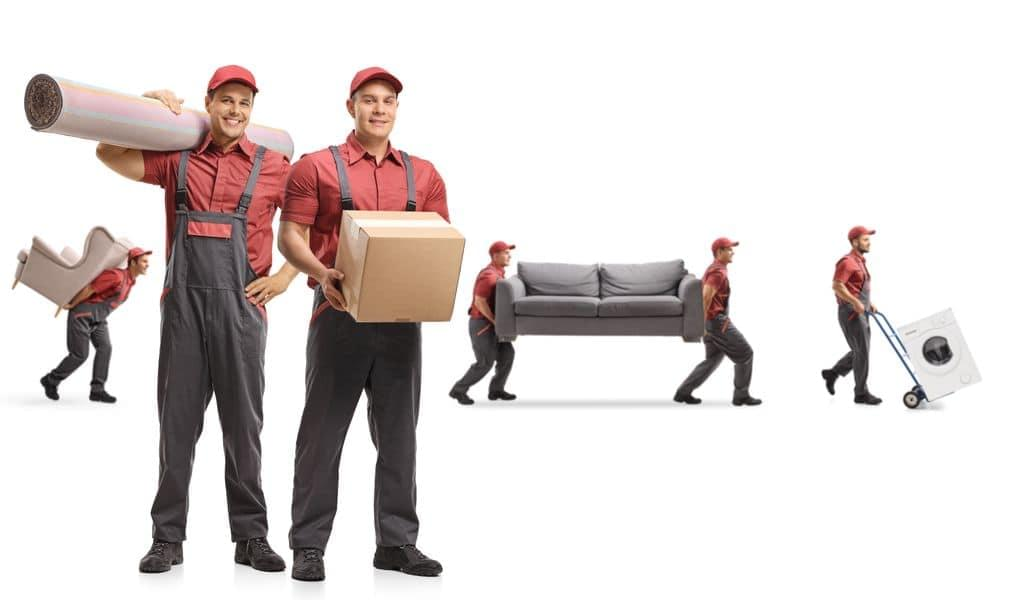Different moving services