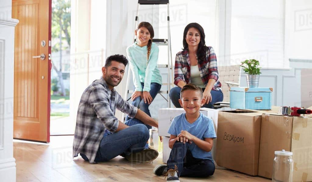 A family moving to South Dakota