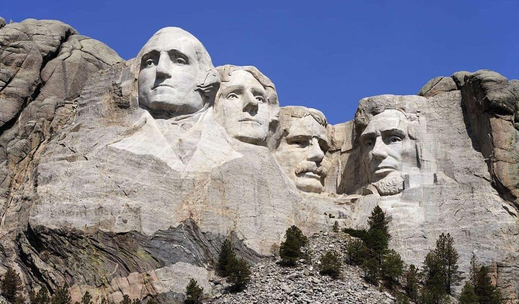 Mount Rushmore in all its brilliance