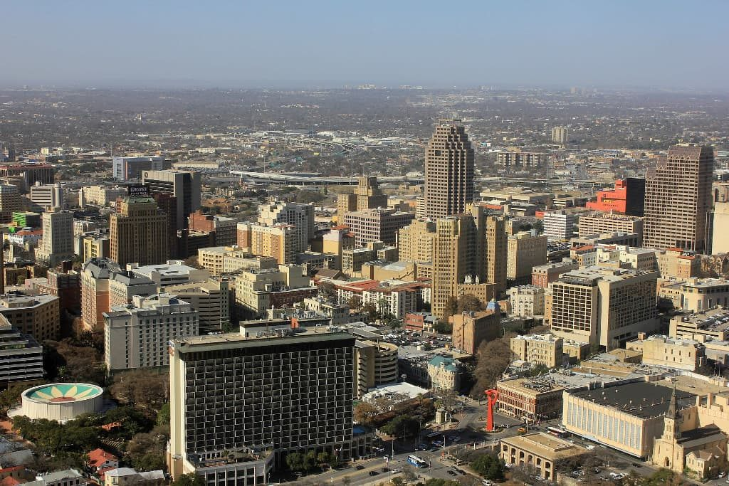Sunny day in San Antonio
