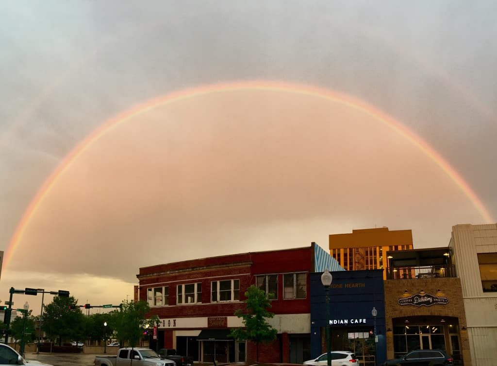 Rainbow in Waco, TX
