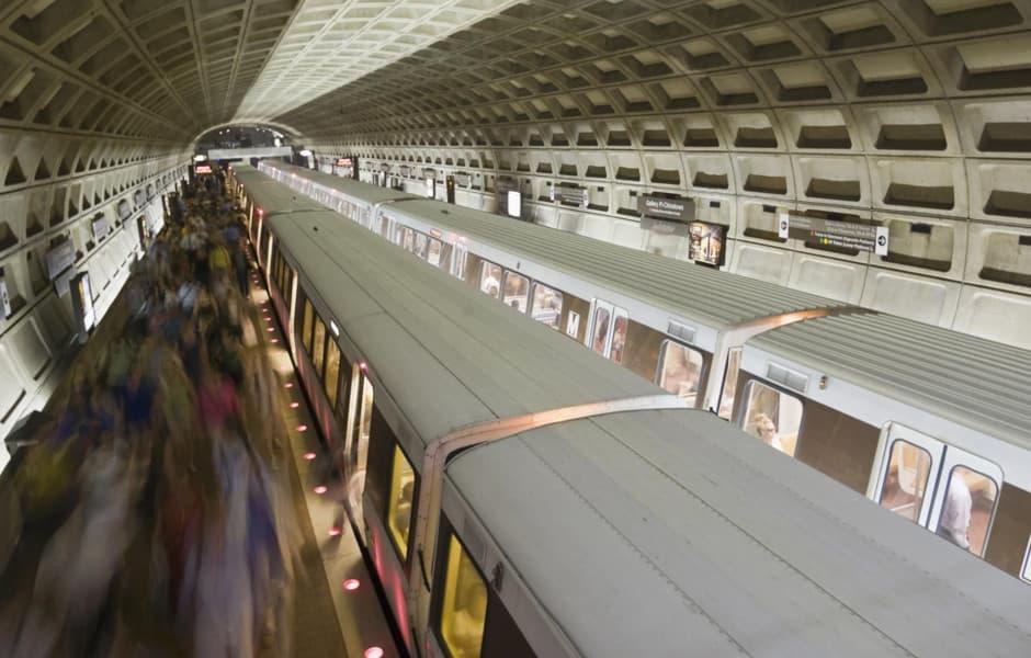 Washington's subway system – trains