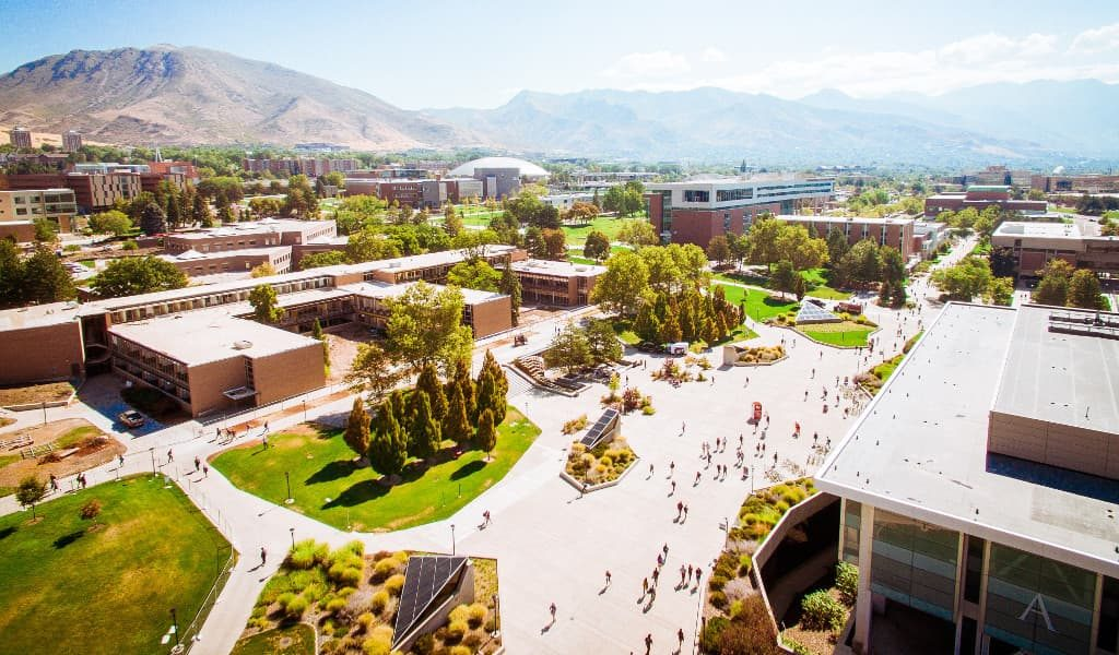 A look inside the campus of University of Utah