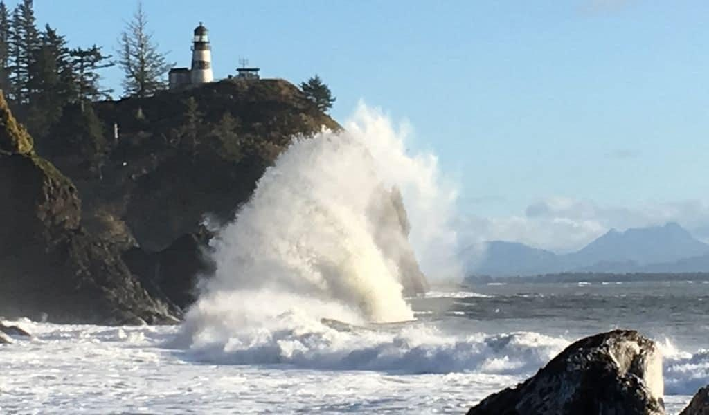 Lighthouses and natural water wonders