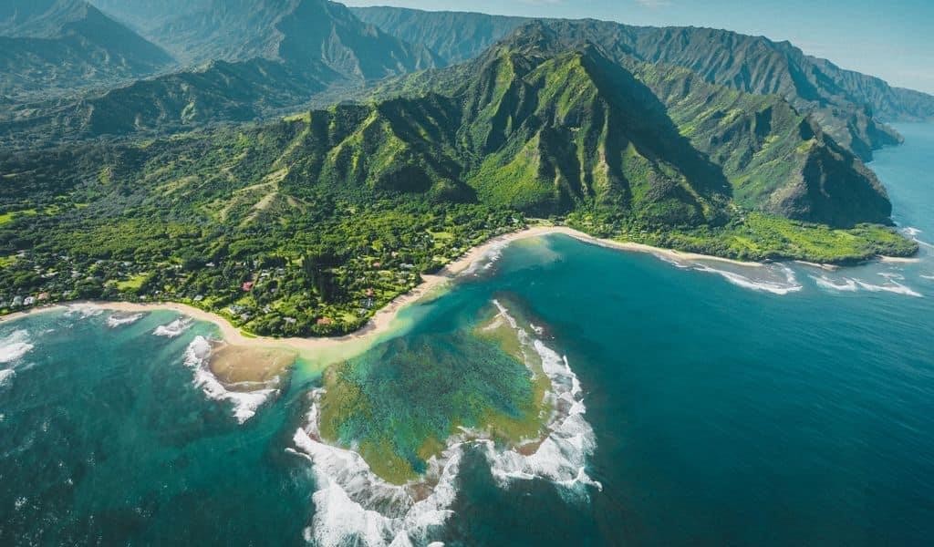 Mountains in Kauai, Hawaii